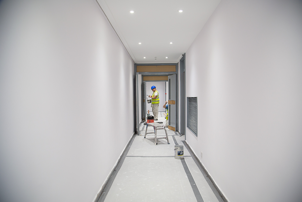 Bilton Towers corridor