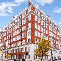Bryanston Court II, W1H external brickwork
