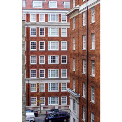 Bryanston Court II, W1H external brickwork