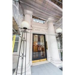 Bryanston Court II, W1H front door