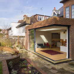 Cholmeley Park, N6 rear extension