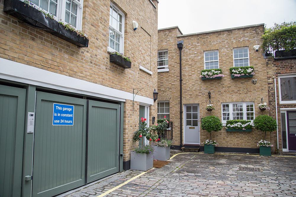 Ellerton House, W1H External Facade