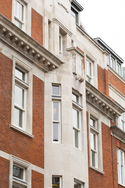 Fitzrovia, London, W1 hero facade closeup